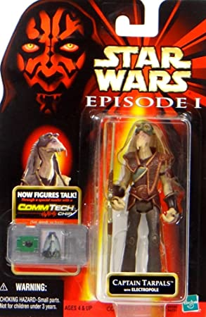 Star Wars Menace Fantôme Capitaine Tarpals