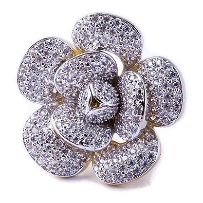 Buy Treasure Trove by Niharika Gupta Diamond Rose Cocktail Ring