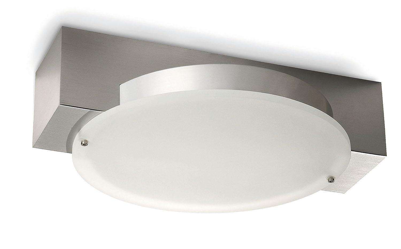 PHILIPS Ecomoods Energiespar- Deckenleuchte  mit 11W, inklusive Leuchtmittel, 2-flammig 346204816