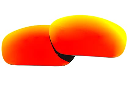 c6033a2be20 Image Unavailable. Image not available for. Color  Polarized Replacement  Sunglasses Lenses for Oakley Jawbone with UV Protection(Fire Red Mirror)