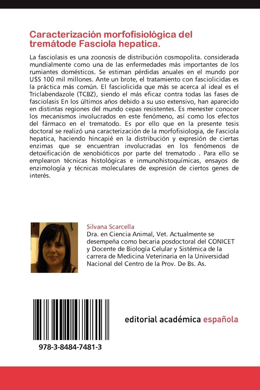 Caracterizacion Morfofisiologica del Trematode Fasciola ...