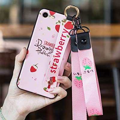 iPhone 8 Case, iPhone 7 Case, Apple iPhone8 iPhone7 for Girls/Women Wrist Strap Band Protector Protective Mobile Phone Cover Full-Body Bumper : Industrial & Scientific
