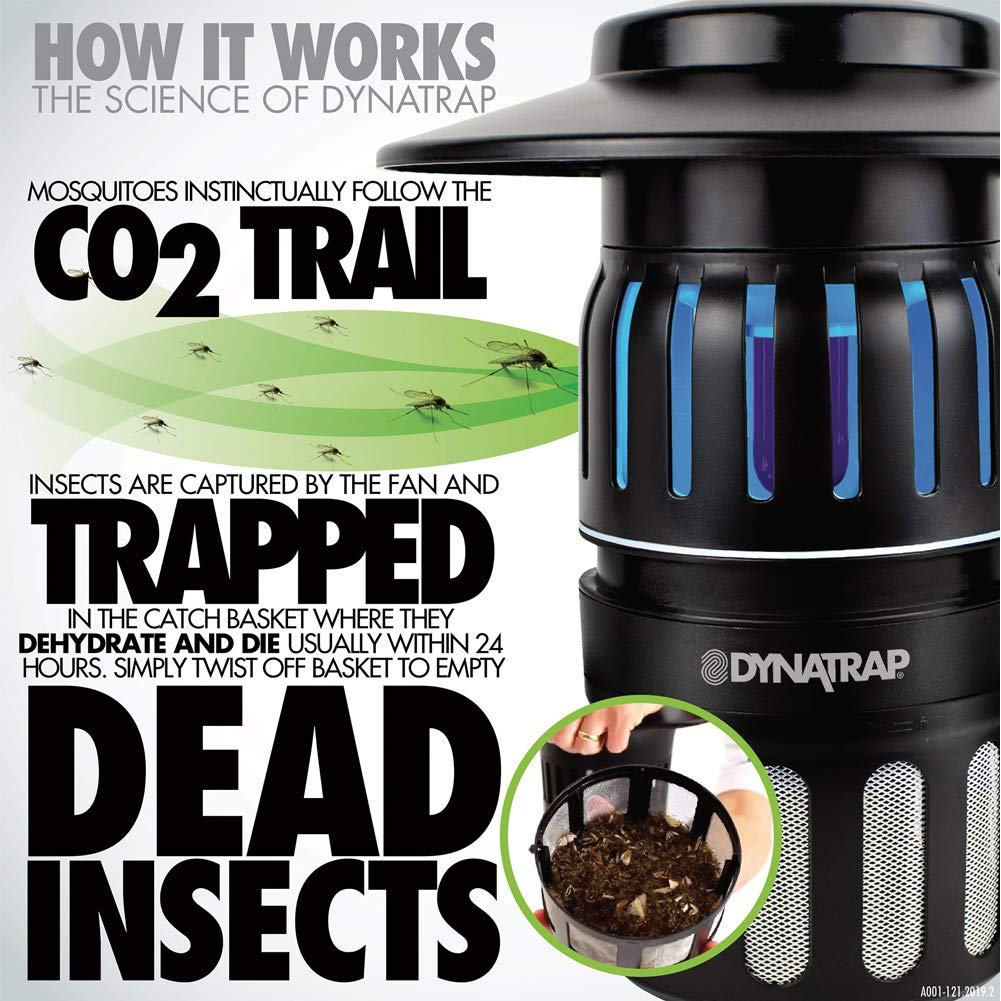 DynaTrap Insect Trap (DT1050-TUN), 1/2 Acre, Decora Series, Tungsten by DynaTrap (Image #5)