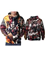 Harley Quinn Suicide Squad print Sublimation Man Hoodies sizes: S to 3XL