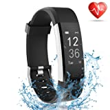 Amazon Price History for:Fitness Tracker with Heart Rate Monitor, Lattie Smart Watch Activity Tracker Pedometer Sports Bracelet with Sleep Monitor Step Calorie Counter Wristband for Android and iOS Smartphone