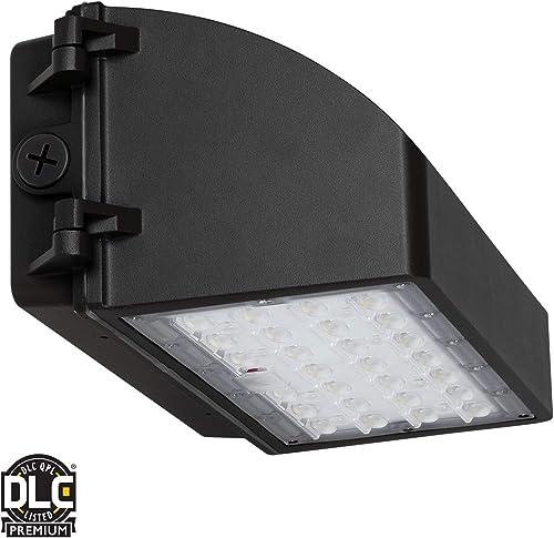 LANFU LED Wall Sconce Waterproof Porch Light 12W, Black Modern Waterproof Wall Lamps, 1000 Lumen, 2700k Warm White, IP65 Waterproof Outdoor Up Down Light 2 PCS