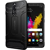 KAPAVER Huawei Mate 10 Lite Case Premium Tough Rugged Solid Black Shock Proof Slim Armor Back Cover Case For Huawei Mate 10 Lite