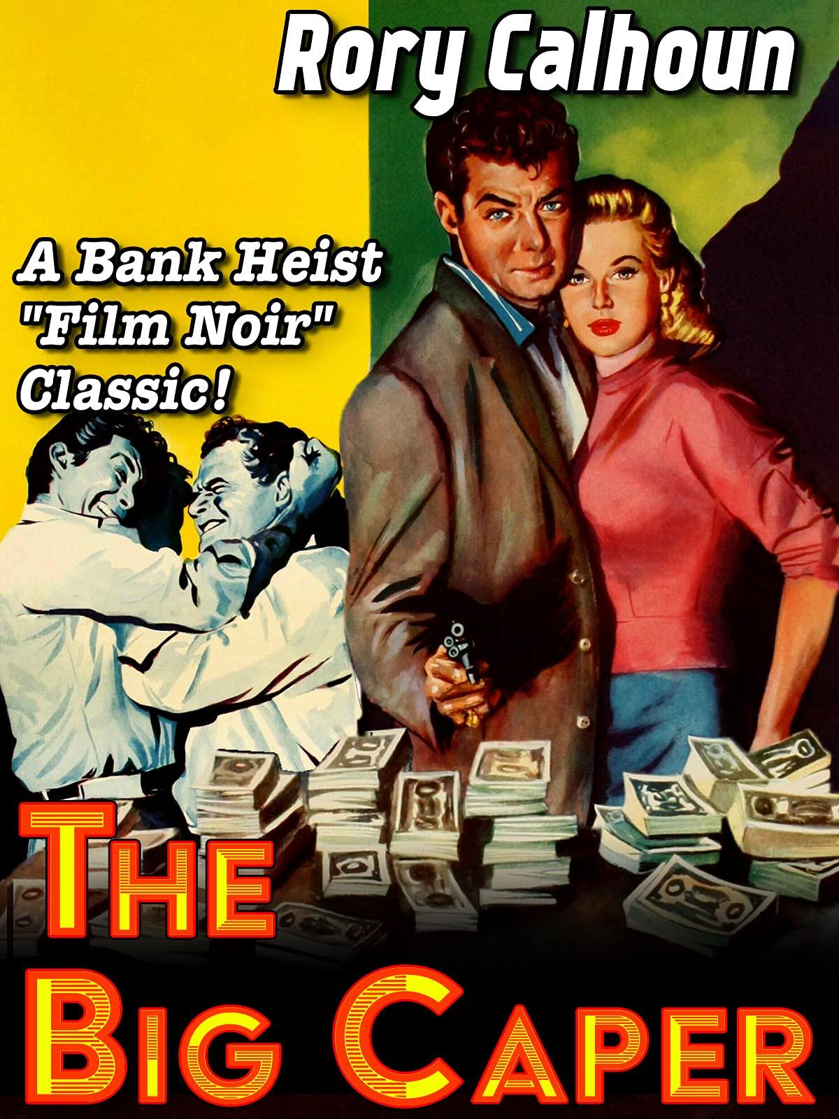 "Rory Calhoun in ""The Big Caper"" - A Bank Heist Film Noir Classic!"