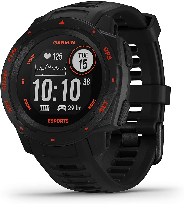 Garmin Instinct Esports Reloj Deportivo, Negro