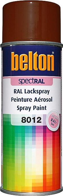 Belton Spectral Lackspray Ral 8012 Rotbraun Glänzend 400 Ml Profi Qualität Baumarkt