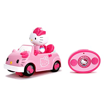 Jada Toys Sanrio Hello Kitty Remote Control Car, Pink, IR Feature: Toys & Games