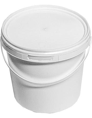 Blanc joint couvercle pour 5-6 Gal de stockage de denrées alimentaires seaux