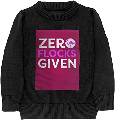 Zero Flocks Given Flamingo Cool Adolescent Boys /& Girls Unisex Sweater Keep Warm