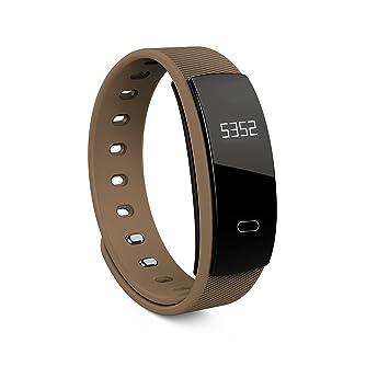 Reloj pulsera inteligente QS80para medir la frecuencia cardíaca y la presió