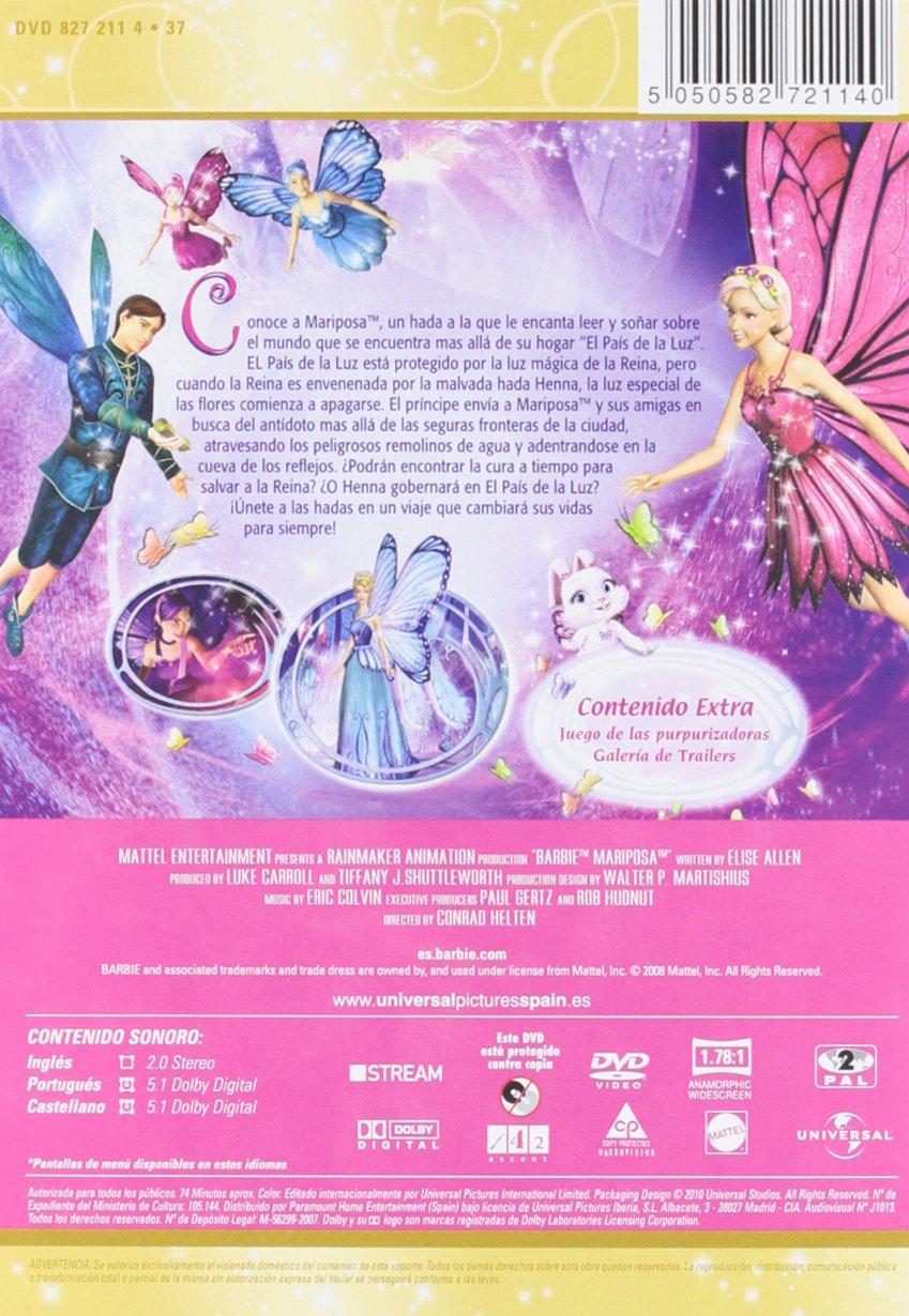 Amazon.com: Barbie - Colección Hadas (Import Movie) (European Format - Zone 2) (2012) Personajes Animados; William Lau;: Movies & TV
