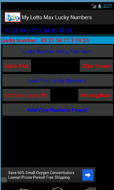 Canada Lotto Max Lucky Numbers and lottery Results (no