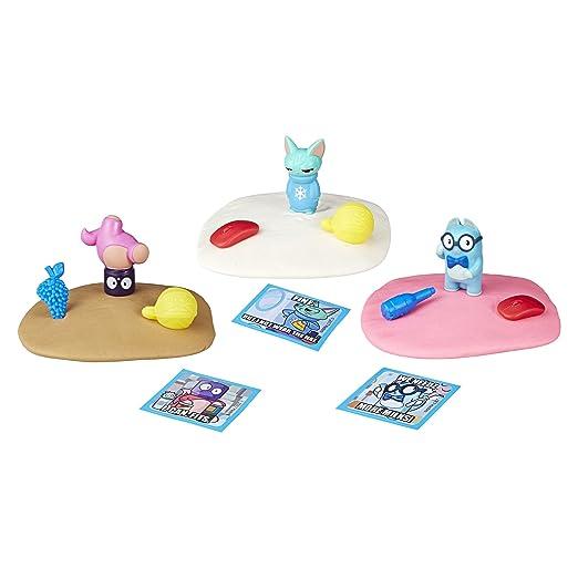 Lost Kitties- 3 Figurines Chaton Surprises, E4665, Multicolore