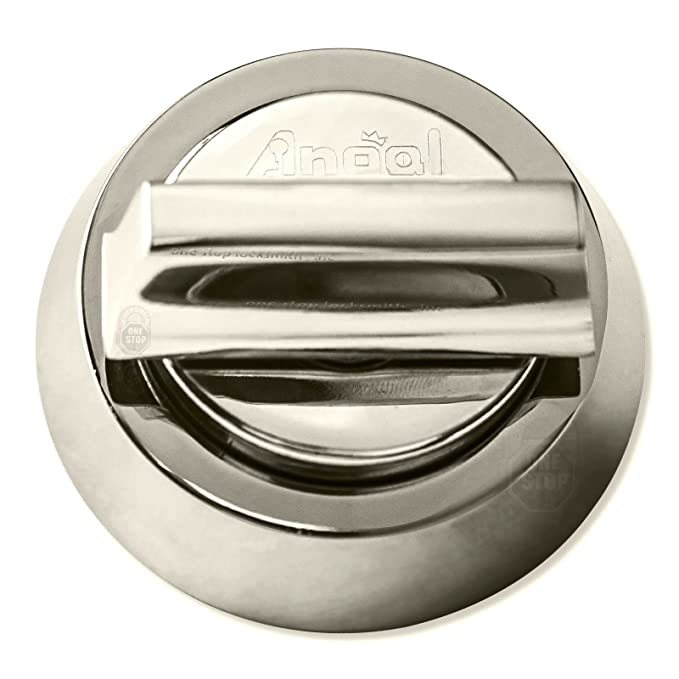 angal high security single deadbolt lock silver amazon ca tools