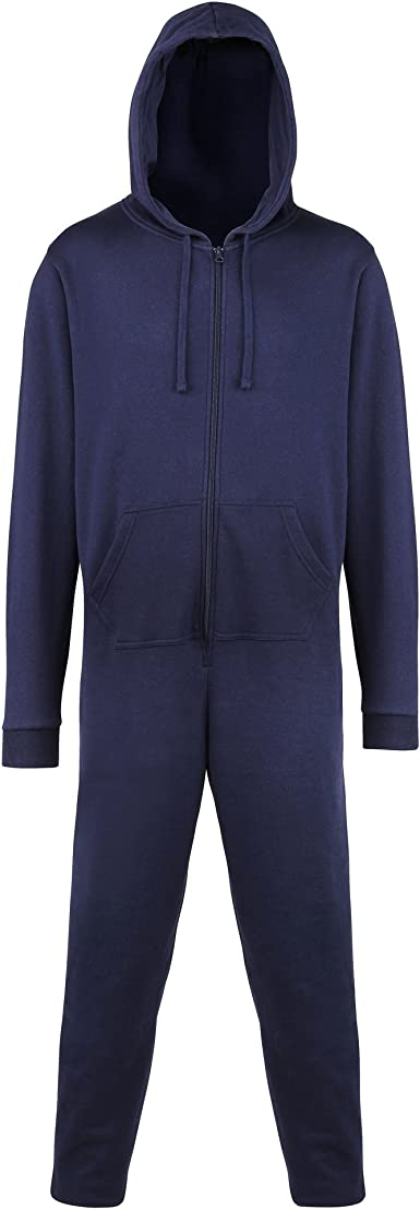 Comfy Co All In One Onesie Navy 2XL