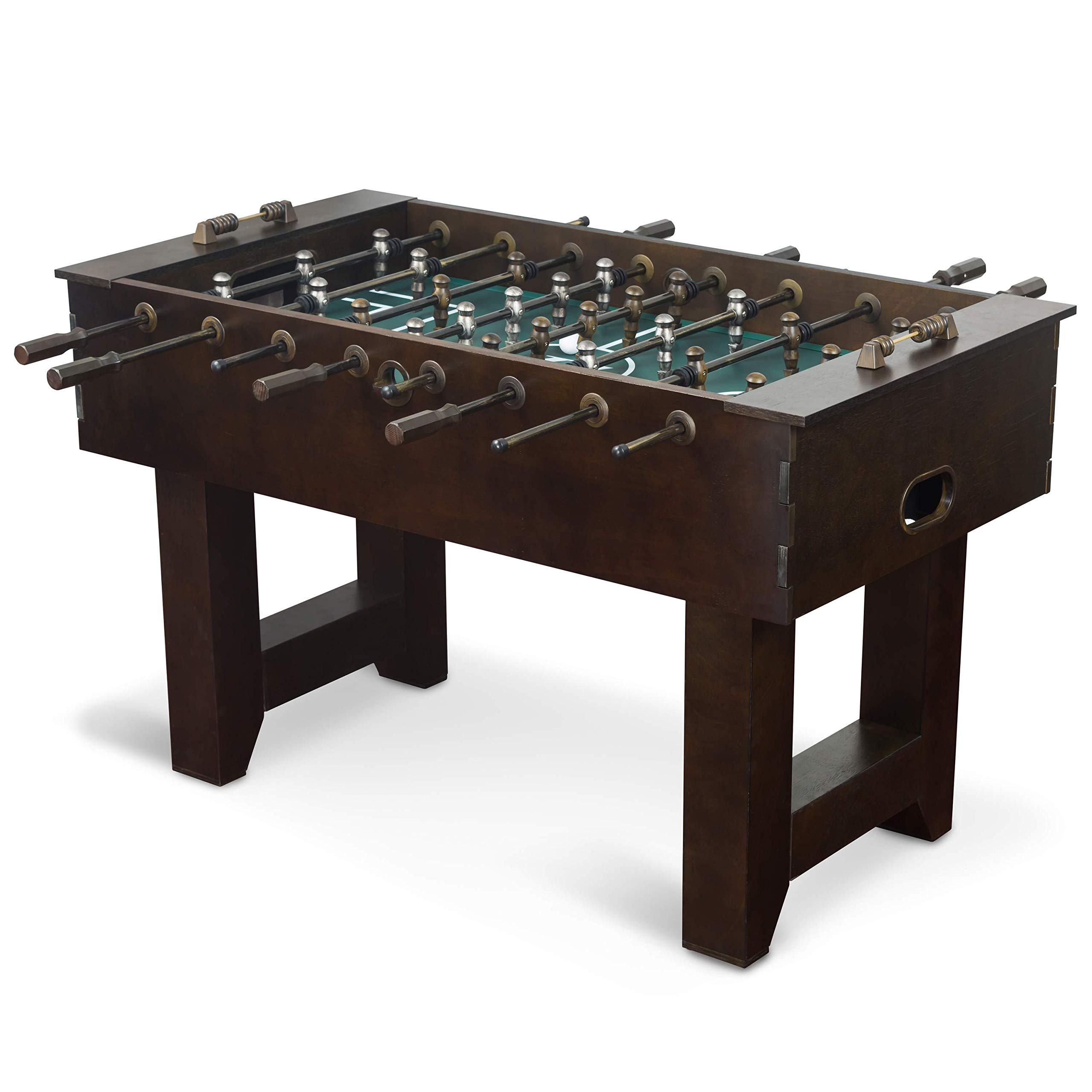 EastPoint Sports Hunter Foosball Table Game - 57 inches - Features Steel Player Rods, Bead Style Scoring and Includes 2 Foosball Balls by EastPoint Sports