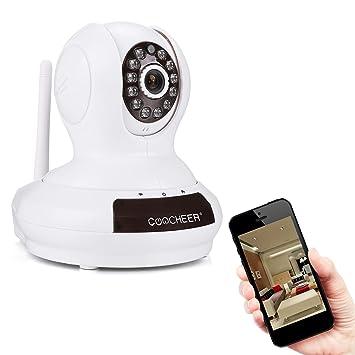Coocheer Caméra de surveillance Bébé Moniteur Wifi IP Caméra ...