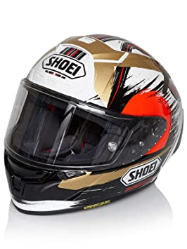 Shoei X-Spirit 3 Marquez II Motegi Motorcycle Helmet S White (TC-1
