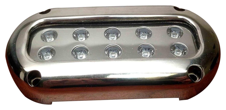 人気提案 Pactrade Marine Marine LEDステンレススチールUnderwaterライト Pactrade、ウルトラブルー、2ピース B06XGM692K B06XGM692K, 大阪市:7a5df0ad --- albertlynchs.com