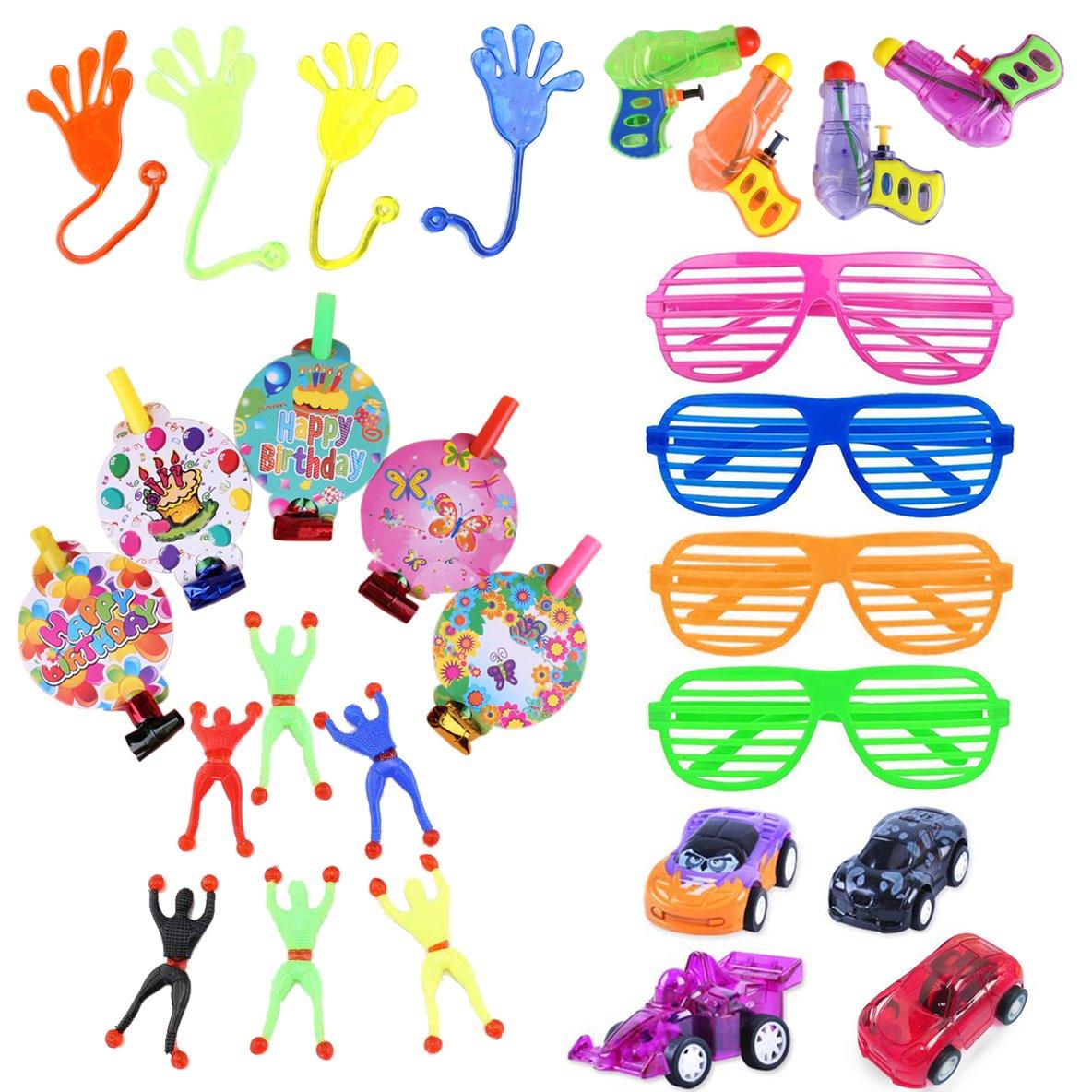 BigLion Party Bag Embroma Favores Fiestas de Cumpleaños Infantiles para niños y niñas Bolsas de Fiesta Llenado 27 Piezas