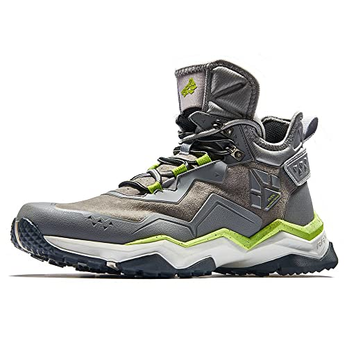 2edd6e376a8 RAX Men's Mid Multifunctional V-tex Waterproof Hiking Boots Outdoor Shoes
