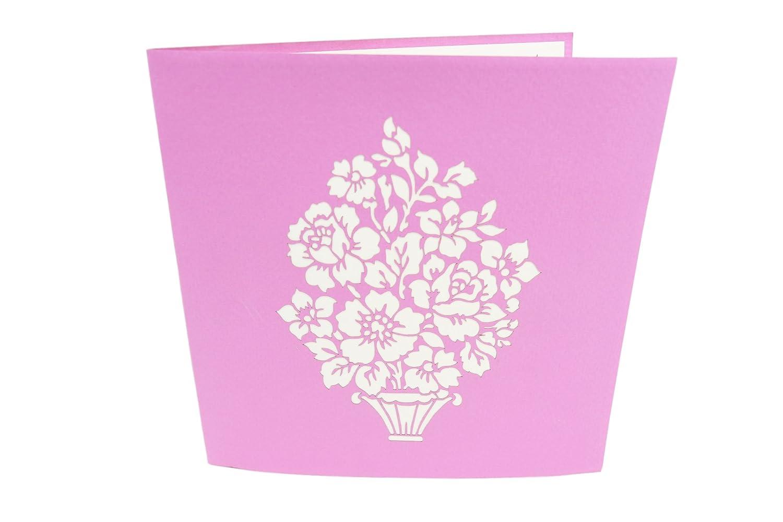 Anniversaire Fête Des Mères Poplife Cards Bouquet De Fleurs