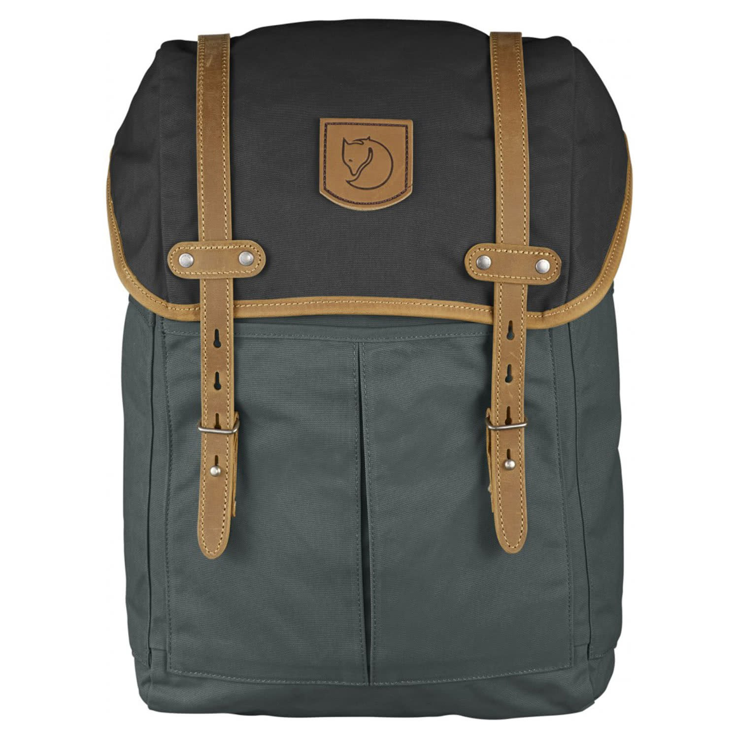 Fjallraven - Rucksack No.21 Medium, Stone Grey-Black