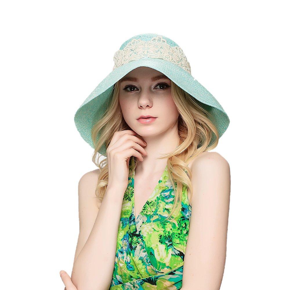 Women's Vintage Hats | Old Fashioned Hats | Retro Hats 2018 Fashionwomens Foldable Summer Sun Beach Straw Hats accessories Wide Brim $16.00 AT vintagedancer.com
