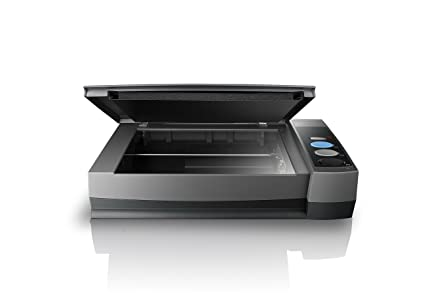 Plustek Book Scanner - OPticBook 3800, Special Book-Edge Design for  eliminates Spine Shadows, CCD Sensor with 48bit Color Input