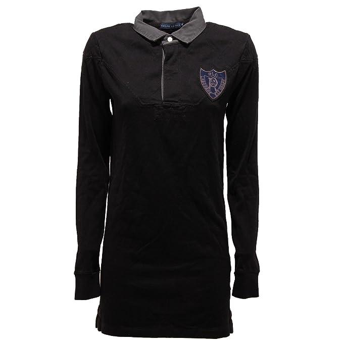 polo LAUREN shirt RALPH donna 14952 t S women abito maglia mini 7A1BxB