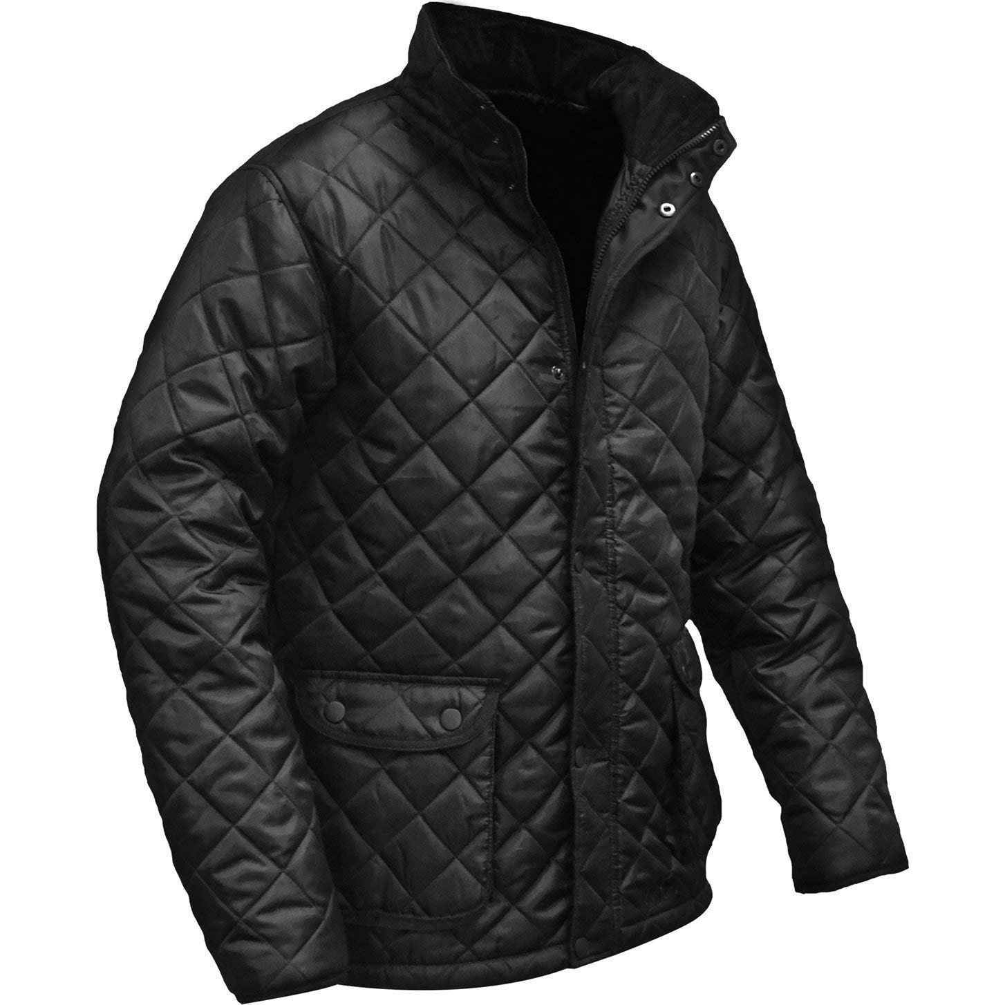 52f86af7228d Roughneck Clothing QUILTXL X-Large Quilted Jacket - Black: Amazon.co.uk:  DIY & Tools