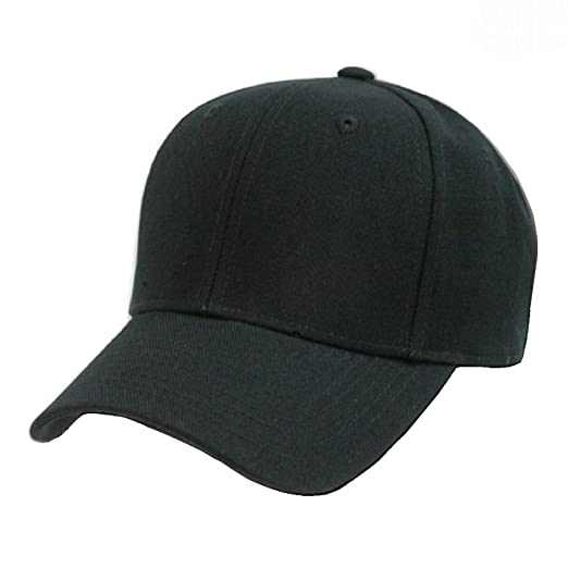 a2412a195b5ff Image Unavailable. Image not available for. Color  Plain Baseball Cap Blank  ...