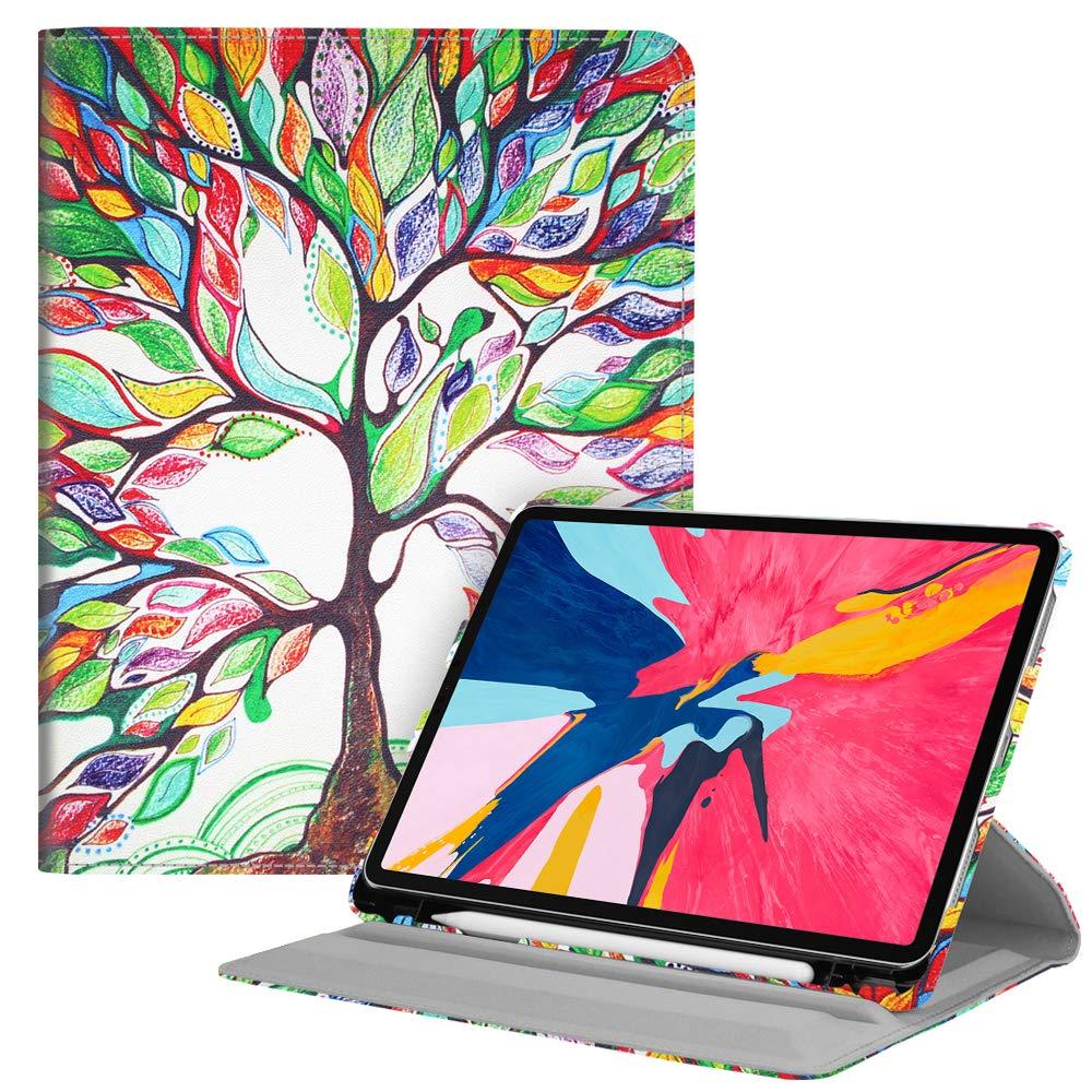 激安特価  Fintie Apple 回転ケース Apple Pencilホルダー内蔵 iPad Pro 11インチ Tree 2018用 2018用 EPAH171US ZA-Love Tree B07KVWKMSC, オバラ住設:75193ef4 --- a0267596.xsph.ru