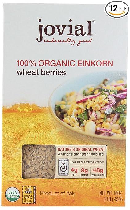 Jovial Organic Einkorn Wheat Berries