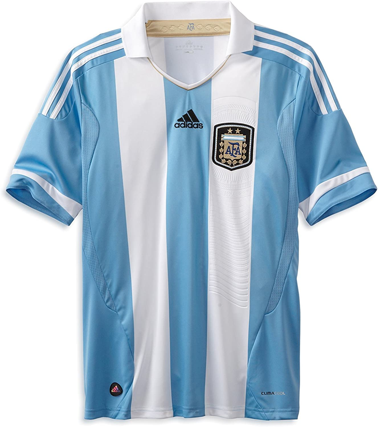 The Best Adidas Mens Soccer Argentina Home Jersey