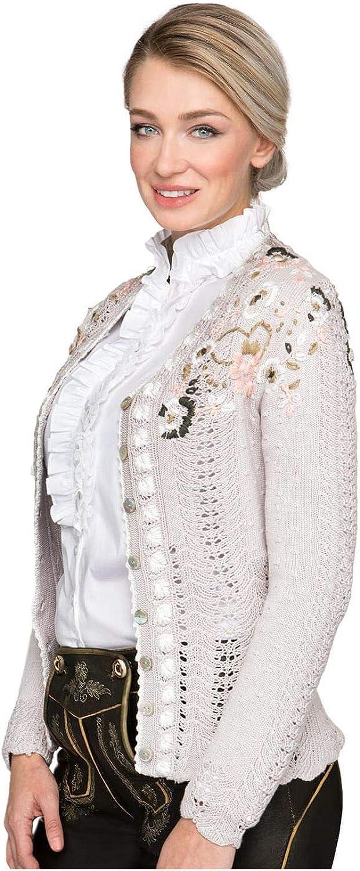 Stockerpoint Traditional Cardigan Ivona Beige