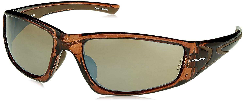 483a193aa1 Crossfire 23117 RPG Safety Glasses HD Brown Flash Mirror Lens - Crystal  Brown Frame - Eyewear Mirror Brown - Amazon.com