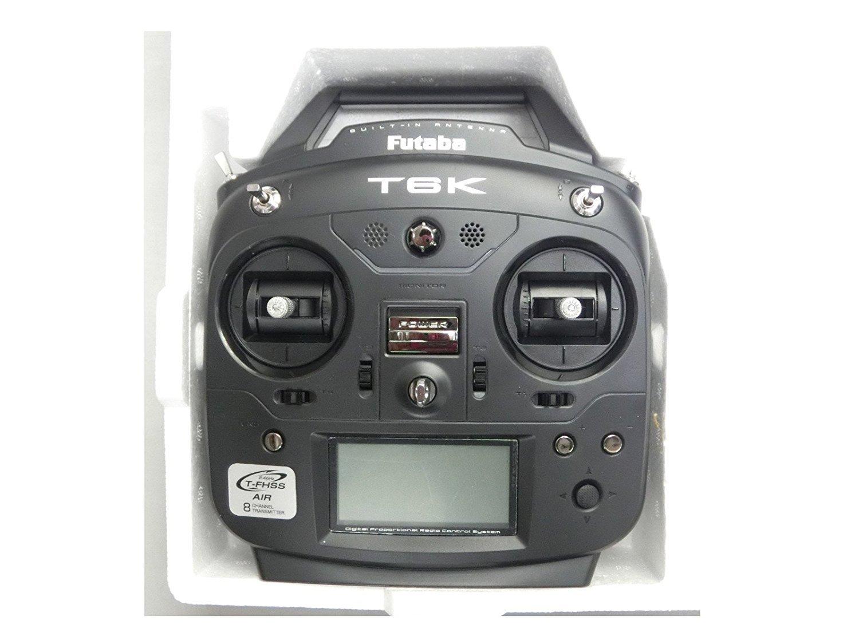 MALTA★XK K110ヘリコプター用S-FHSS送信機単品(乾電池仕様) 6K モード1=右スロットル仕様 日本技適〒マーク取得品 6K-V2-MD1 B07BP61R6N