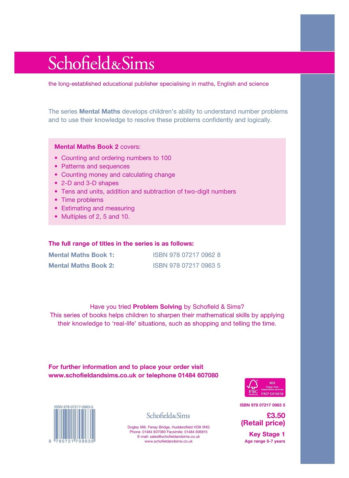 Mental Maths Book 2 (of 2): Key Stage 1, Years 1 & 2: Amazon.co.uk ...