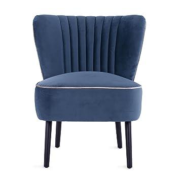 Delightful Lula Accent Chair, Velvet Cocktail Chair, Mid Century Modern Armchair,  Living Room
