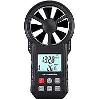Anemómetro Digital Medidor de Velocidad y Temperatura del