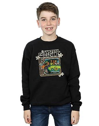 e0f298ed1e Amazon.com  Scooby Doo Boys Mystery Machine Sweatshirt  Clothing