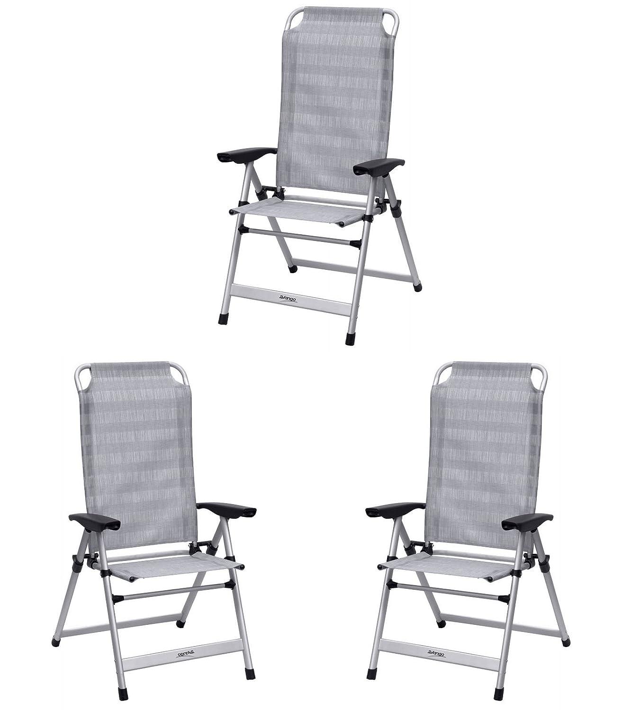 Vango Windsor hoch Stuhl aus Aluminium Aluminium X 3