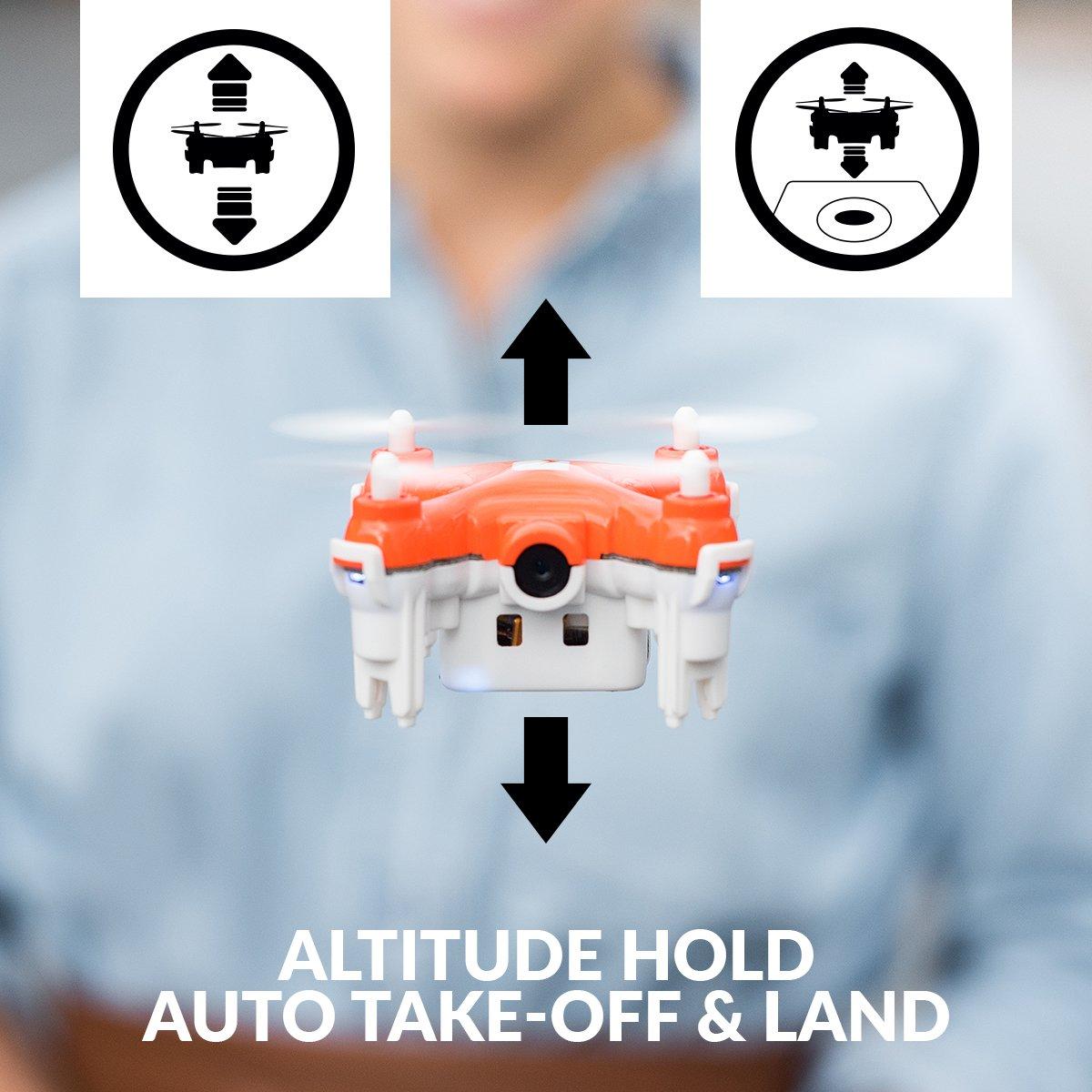 TRNDlabs SKEYE Nano 2 FPV Selfie Drone con cámara HD- El ...