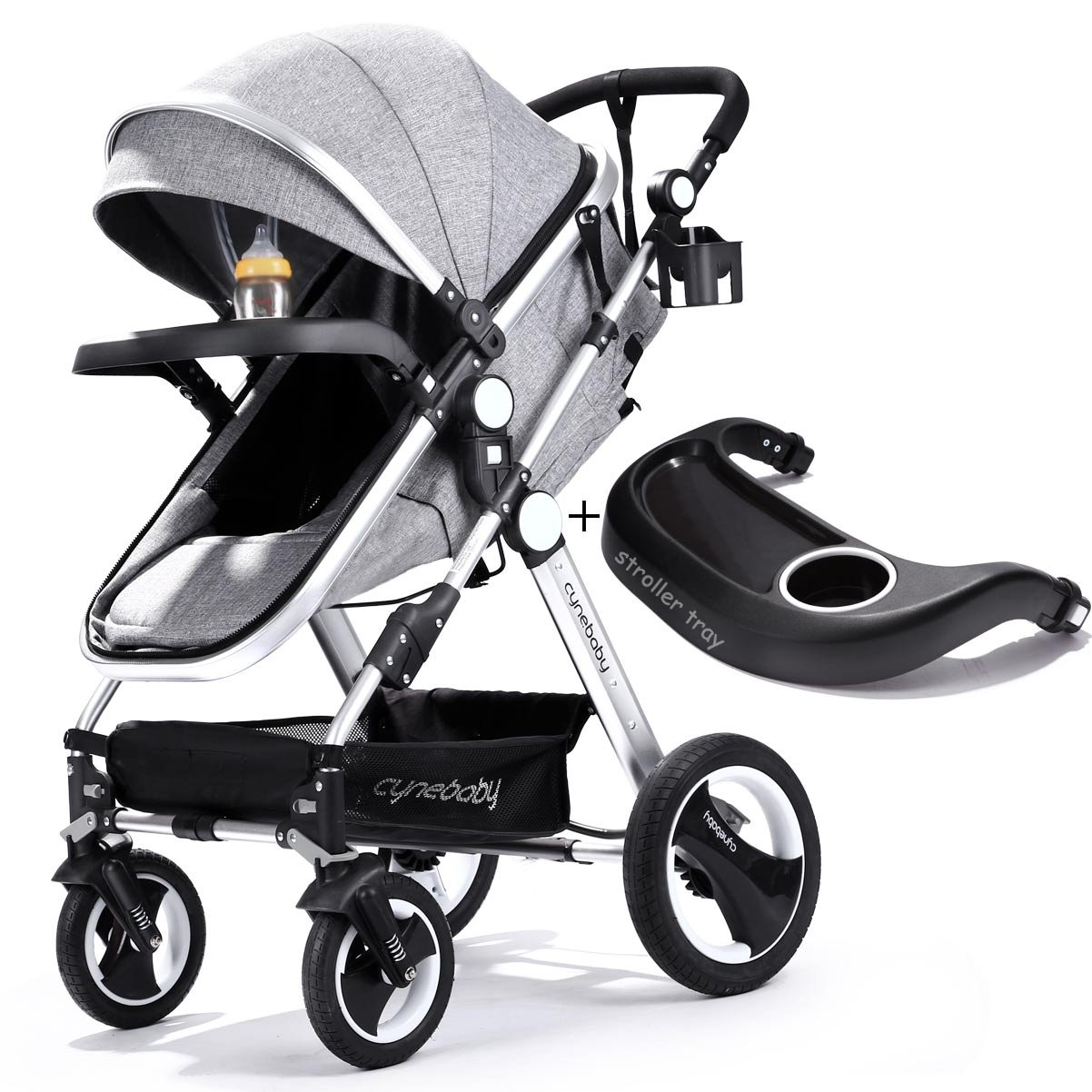 Single-to-Double Stroller