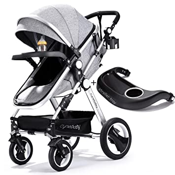 Infant Toddler Baby Stroller Carriage Cynebaby Compact Pram Strollers Single Stroller Add Cup Holder